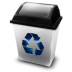 72x72px size png icon of Recycle Empty