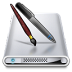 72x72px size png icon of Drives Applications