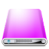 72x72px size png icon of Drives Colours Violet