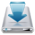 72x72px size png icon of Drives Downloads