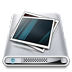 72x72px size png icon of Drives Pictures