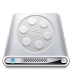 72x72px size png icon of Drives Videos