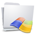 72x72px size png icon of Folders Windows