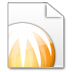 72x72px size png icon of Mimetypes BitComet Torrent File