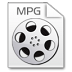 72x72px size png icon of Mimetypes mpg