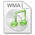 72x72px size png icon of Mimetypes wma
