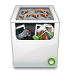 72x72px size png icon of Misc Recycle Bin Full