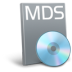 72x72px size png icon of File mds