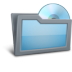 72x72px size png icon of Folder Disk