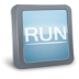 72x72px size png icon of Run