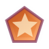72x72px size png icon of Actions draw polygon star