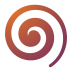 72x72px size png icon of Actions draw spiral