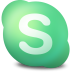 72x72px size png icon of Actions skype connecting