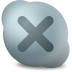 72x72px size png icon of Actions skype contact offline