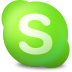 72x72px size png icon of Actions skype contact online