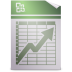 72x72px size png icon of Mimetypes application vnd.ms excel