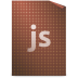 72x72px size png icon of Mimetypes javascript