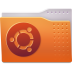 72x72px size png icon of Places folder ubuntu