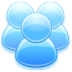 72x72px size png icon of User group
