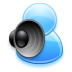 72x72px size png icon of Voice chat