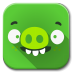 72x72px size png icon of Apps bad piggies