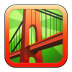 72x72px size png icon of Bridge Constructor