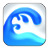 72x72px size png icon of Ocean Waves