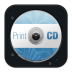 72x72px size png icon of Print CD