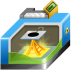 72x72px size png icon of 3D printing