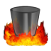 72x72px size png icon of Hell TrashEmpty