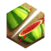72x72px size png icon of game fruit ninja
