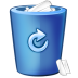 72x72px size png icon of bin blue