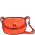 72x72px size png icon of kiki bag closed