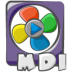 72x72px size png icon of filetype movie mdi