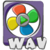 72x72px size png icon of filetype movie wav
