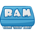 72x72px size png icon of ram