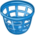 72x72px size png icon of trash basket