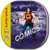 72x72px size png icon of comic book