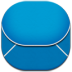 72x72px size png icon of email blue