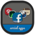 72x72px size png icon of folders social