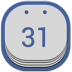 72x72px size png icon of google cal