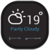 72x72px size png icon of weather eye