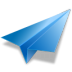 72x72px size png icon of paper plane