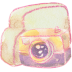 72x72px size png icon of Folder camera