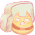 72x72px size png icon of Folder cat angry