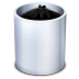 72x72px size png icon of Dock Trash Full