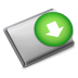 72x72px size png icon of Folder Downloads
