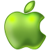 72x72px size png icon of Apple Green