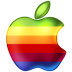 72x72px size png icon of Apple Rainbow