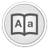 72x72px size png icon of Dictionary